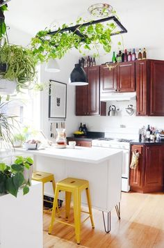 Renter DIY Projects That Improve Your Temporary Home | These rental spaces prove that there are tons of small tweaks and ideas for updating your home that don't cost a lot of money or break your lease in any way,