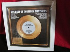 """Vintage """"Soul"""" Album """"The Best of the Isley Brothers"""" by trackerjax on Etsy"""