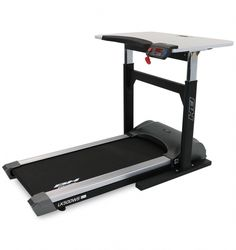 The LK500WS Treadmill Desk from BH Fitness is a functional work station designed with a spacious adjustable height desktop which will accommodate a laptop computer, mouse, tablet, and any other portable work items, allowing you to walk while you work at home or in the office. The LK 500 Series Walking Desk is a workplace walking solution ideal for those looking to increase daily activity, increase workplace productivity and efficiency.