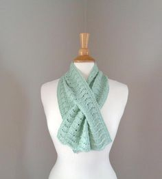 Hand Knit Scarf, Lace Scarf, Stitch Patterns, Knitting Patterns, Chic Summer Style, Cashmere Yarn, Pistachio Green, Ear Warmers, Comfortable Fashion