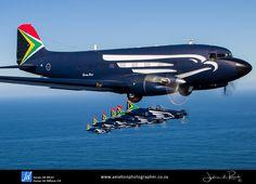 SAAF Silver Falcons – Air to Air