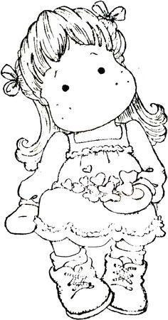 A Christmas Story 2012 - Tilda with Christmas Hearts