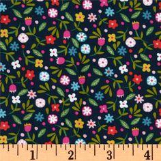 Soul Garden Ditsy Floral Navy