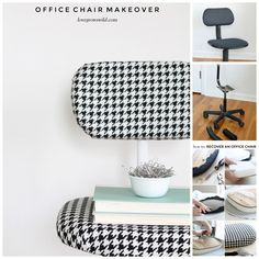 Office Chair Makeover | 35 Awesome Ways To Give New Life To Old Furniture