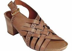 Pikolinos Heel Sandals With a polished effect block heel and woven straps these sandals a great buy. Pikolinos Sandals Features: Upper, lining  sock: Leather Sole: Other materials Heel height approx. 5 cm (2ins) http://www.comparestoreprices.co.uk/womens-shoes/pikolinos-heel-sandals.asp