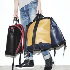 [MARNI 2WAY Calf Leather Backpack/Tote bag] fashion ootd outfit style alexandermcqeen balmain lanvin tomford balmain lanvin saintlaurentparis rafsimons prada ami balenciaga valentino yohjiyamamoto driesvannoten commedesgarcons givenchy maisonmartinmargiela philliplim rickowens acne diorhomme carven secondhand dollar_osaka mensstlye