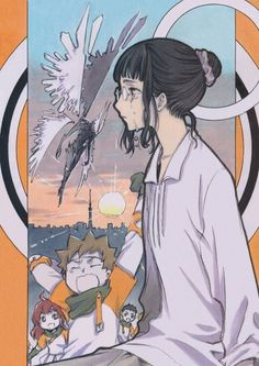 CLAMP. Haken Anime!