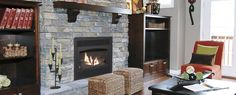 Vermont Castings Wood Stoves - The Hearth and Patio Brick Fireplace Wall, Fireplace Gallery, Wood Burning Fireplace Inserts, Fireplace Update, Home Fireplace, Fireplaces, Fireplace Ideas, Vermont Castings Wood Stove, Hearth And Patio