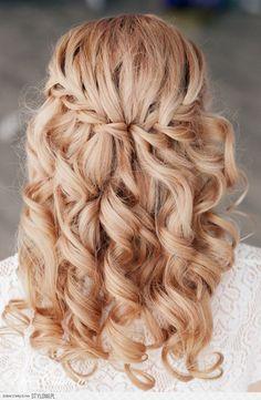 hoco hair