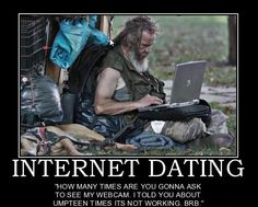 ONLINE DATING HUMOR - Forget dating, join POF: Make yourself feel ...