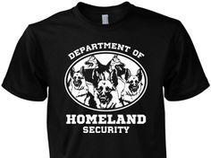German Shepherd Homeland Security