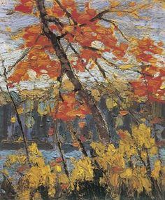 Tom Thomson The Maple