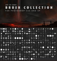photoshop brushes for illustrators and concept artist. Photoshop Design, Photoshop Tutorial, Free Photoshop, Photoshop Actions, Gimp Tutorial, Digital Painting Tutorials, Digital Art Tutorial, Photoshop For Photographers, Photoshop Photography
