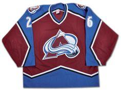 Stephane Yelle 2001-02 Colorado Avalanche Game-Worn Jersey e73804d99