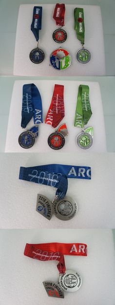 Other Fan Apparel and Souvenirs 465: Spartan Race Trifecta 2016 Spartan Super Sprint Beast Finisher Medals Pie Pieces -> BUY IT NOW ONLY: $39 on eBay!