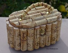Large purse with winery exclusive corks - Trahan Winery, Napa