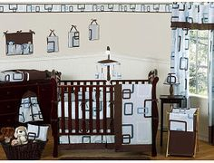 Sweet Jojo Designs Go Fish Collection 9 Piece Crib Bedding Set
