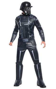Rogue One: AStar WarsStory Childs Super Deluxe Death Trooper Costume -- Star Wars is back and better than ever with tons of great options to choose from for Halloween Costumes. Check out this star wars costume and all of our others! Costume Garçon, Costume Shop, Adult Costumes, Halloween Costumes, Soldier Costume, Group Costumes, Star Wars Halloween, First Halloween, Children Costumes