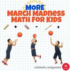 Use these tips to get your kids to use math while watching March Madness games.