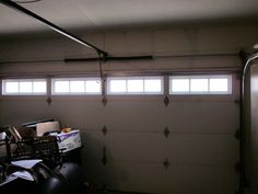 Tips for Reparing a garage Door written by: kidobe20 Garage door spring replacement is a very dangerous undertaking since the spring is tensed and under torsion. Loss of one's life injury and even loss of sight are some of the dangers one has to deal with when replacing a door spring. Damage to property do occur from time to time.