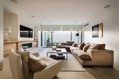 Уютная гостиная в частном доме