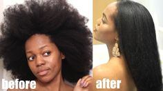 How to SAFELY straighten 4C NATURAL HAIR start to finish [Video] - http://community.blackhairinformation.com/video-gallery/natural-hair-videos/safely-straighten-4c-natural-hair-start-finish-video/