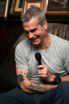 Henry Rollins - love this photo ❤️❤️❤️