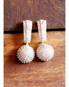 CZ Studded Ball Earrings MAE245e