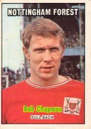 Nigel's Webspace - A&BC Chewing Gum - 1970/71, Footballers, Orange backs, Nottingham Forest