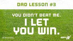 Dad Lesson No. 3 #happyfathersday