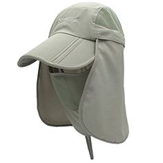 Surblue Quick-Drying Outdoor Cap UV Protection Sun Hats Fishing Hat Neck  Face Flap Hat UPF50+ Review ab009246e69d