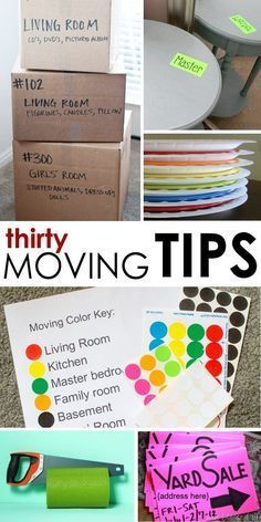 Ideas on How to Move - AND Stay Sane stress-free moving tips to make a smooth transition to your new home.stress-free moving tips to make a smooth transition to your new home. Moving House Tips, Moving Home, Moving Day, Moving Tips, Moving Hacks, Diy Spring, Spring Crafts, Genius Ideas, Packing To Move