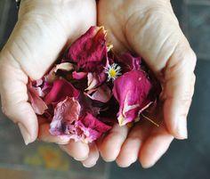 How to make natural petal confetti at home