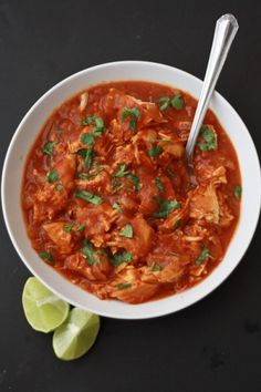 Paleo & Whole30 Slow Cooker Butter Chicken // One Lovely Life