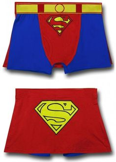 Superman Caped Boxer Briefs