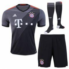 Camisetas del Bayern Munich para Niños Away 2016 2017 Bayern Munich Shirt a8120a293ce7d