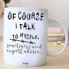 Funny Coffee Mugs, Coffee Quotes, Funny Mugs, Cool Kitchen Gadgets, Cool Kitchens, Black Coffee, My Coffee, Talk To Me, Cool Gifts