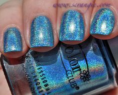 Color Club Halo Hues Holographic Nail Polish Collection Spring 2013 Swatches and Review