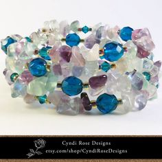 One of a kind, hand crafted jewelry made in the USA by CyndiRoseDesigns Handcrafted Jewelry, Unique Jewelry, Spirals, Rose Design, Jewelry Crafts, Beaded Jewelry, Chips, Jewelry Making, Bangles