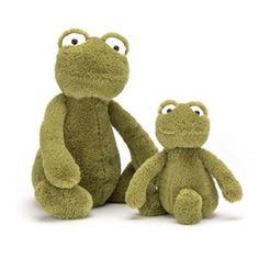 Köp Jellycat - Bashful Frog - Gosedjur direkt på nätet hos Litenleker.se. Designade leksaker levereras direkt hem till dörren. Välkommen!