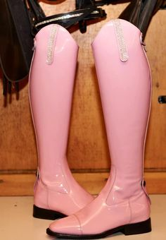 Obviously the rules will never bend enough to allow pink patent tall boots, but they are gorgeous!