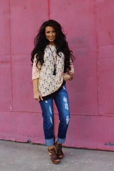 Maggie Boyfriend Jeans