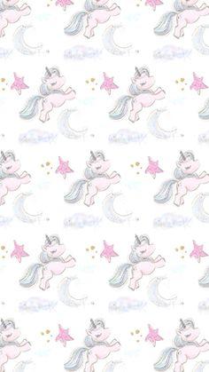 Unicorn Pattern Love Wallpaper, Pattern Wallpaper, Wallpaper Backgrounds, Cellphone Wallpaper, Iphone Wallpaper, Teddy Pictures, Cute Lockscreens, Anime Galaxy, Unicorn Pictures