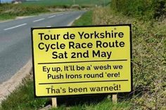 Typical Yorkshire humor.
