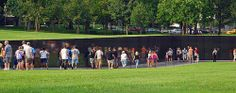 Vietnam Veterans Memorial Wall in Washington DC, designed by architect Maya Lin.