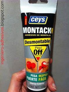 Montack Desmontable de Ceys: un adhesivo para pega...
