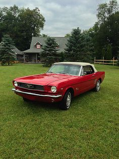 1966 Mustang Convertible Classic