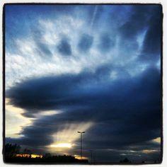 #sky #sun #opening #dark #light #clouds #takenbyme