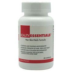 BeautyFit BeautyEssentials Antioxidant Hair & Nail Health Supplement!