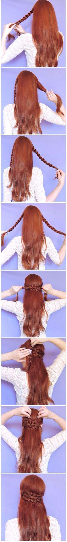 braided half updo (2)